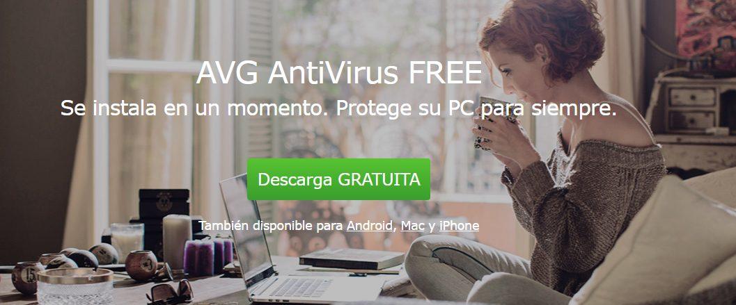 AVG Antivirus gratis para Windows 10