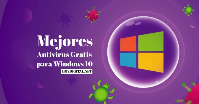 Antivirus Gratis para Windows 10