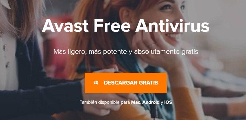Avast Antivirus gratis para windows