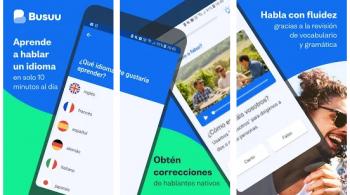 Busuu aplicacione para aprendar idiomas
