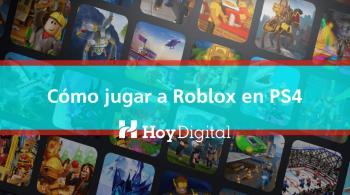 Cómo jugar a Roblox en PS4