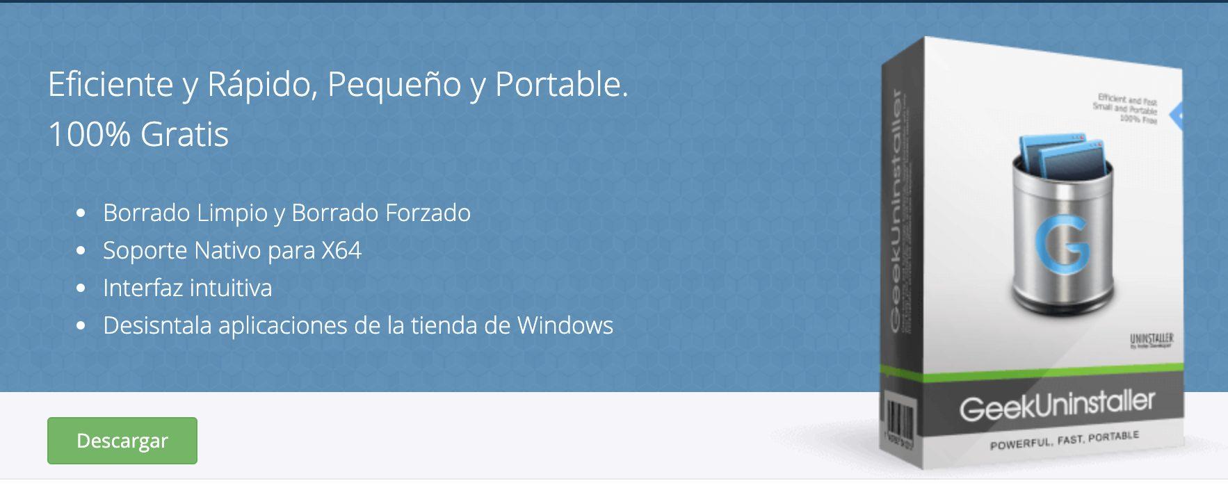 Geek Unistaller, Borrar rastros de un programa desinstalado en Windows