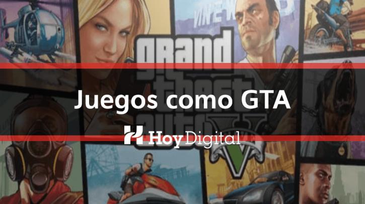 Juegos coMo GTA5, juego similare a GTA, alternativas de GTA5