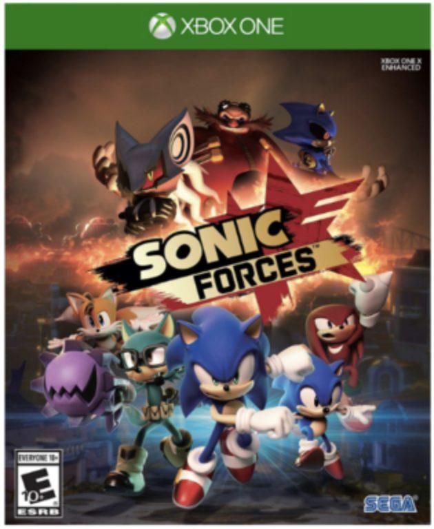 Sonic forces, Xbox 1 juego para niños