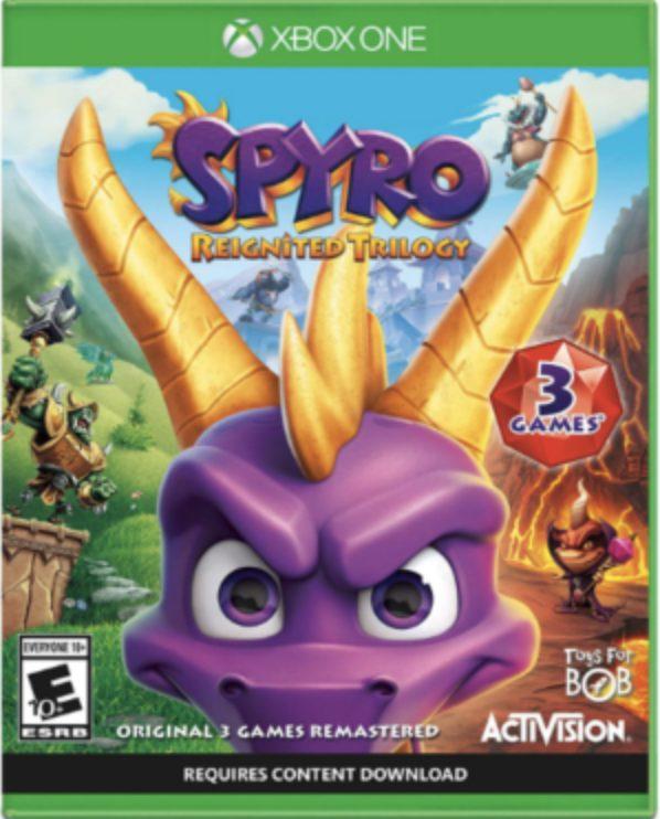 juegos de xbox 360 para niños sin violencia, Spyro Reignited Trilogy