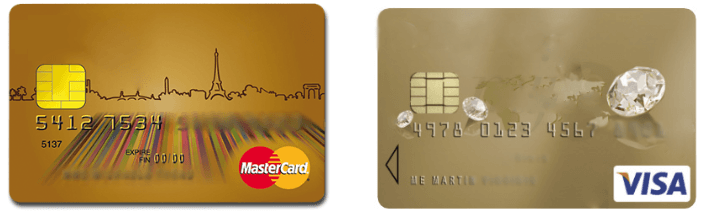 Números Tarjetas Visa Mastercard