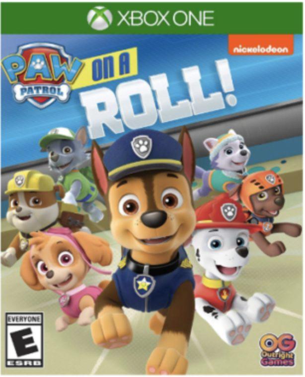 Paw Patrol On A Roll, Juego xbox para niños preescolar