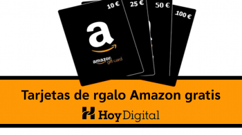 tarjetas de regalo amazon GRATIS