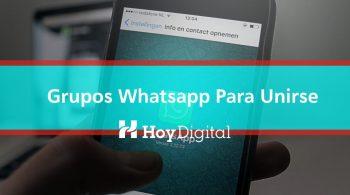 grupos de whatsapp para unirse